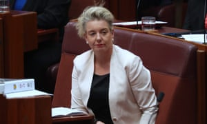 Bridget McKenzie in parliament