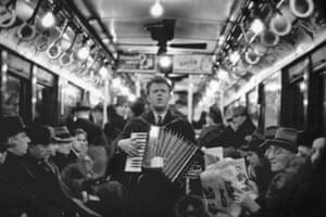 Blind Man in Subway