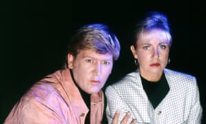 """Mike Smith and Sarah Greene in Ghostwatch"""