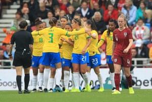 Brazil celebrate