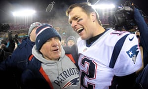 Bill Belichick and Tom Brady are aiming to win their sixth Super Bowl together