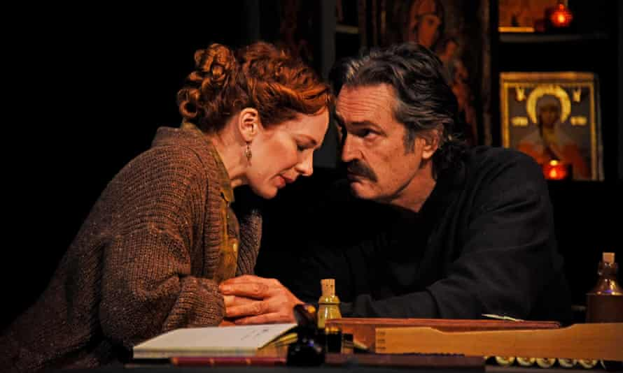Katherine Parkinson with Rupert Everett.