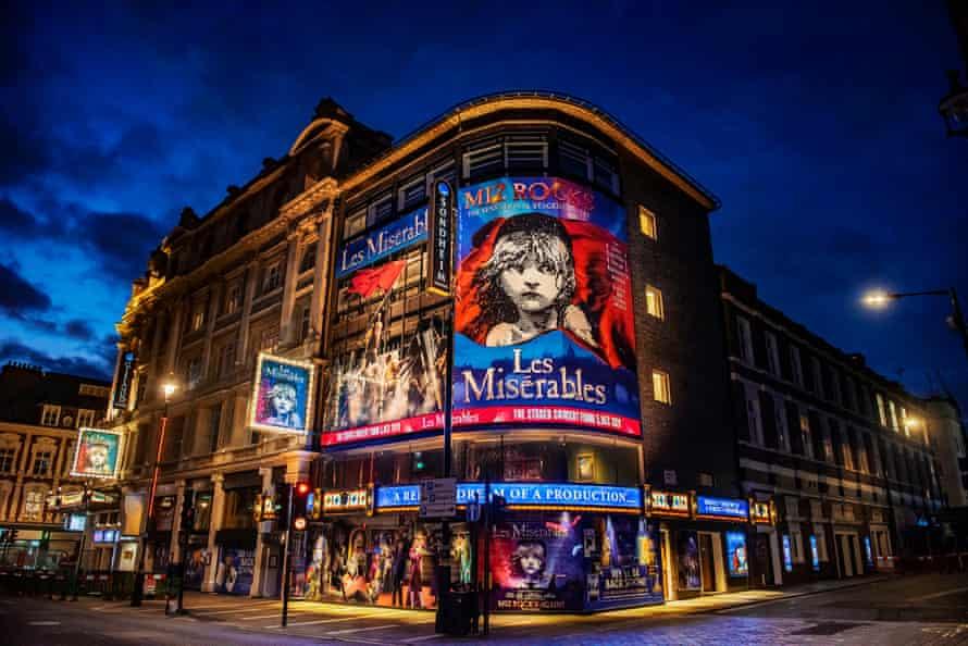 Les Misérables at the Sondheim theatre