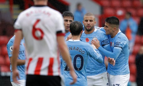 Kyle Walker lashes Manchester City to victory over Sheffield United