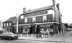 The Golden Lion pub in Sydenham, south London, where Daniel Morgan's body was discovered.