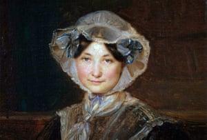 portrait in oils of frances trollope by auguste hervieu