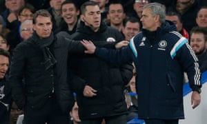 Neither José Mourinho nor Brendan Rodgers had successful careers as professional footballers.