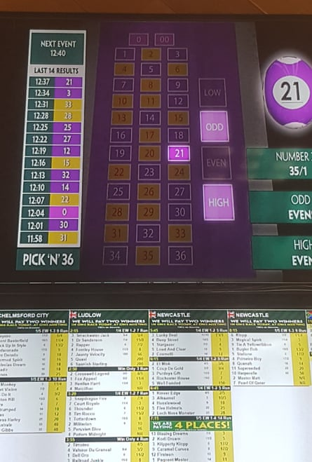 Paddy Power's Pick 'n' 36 game