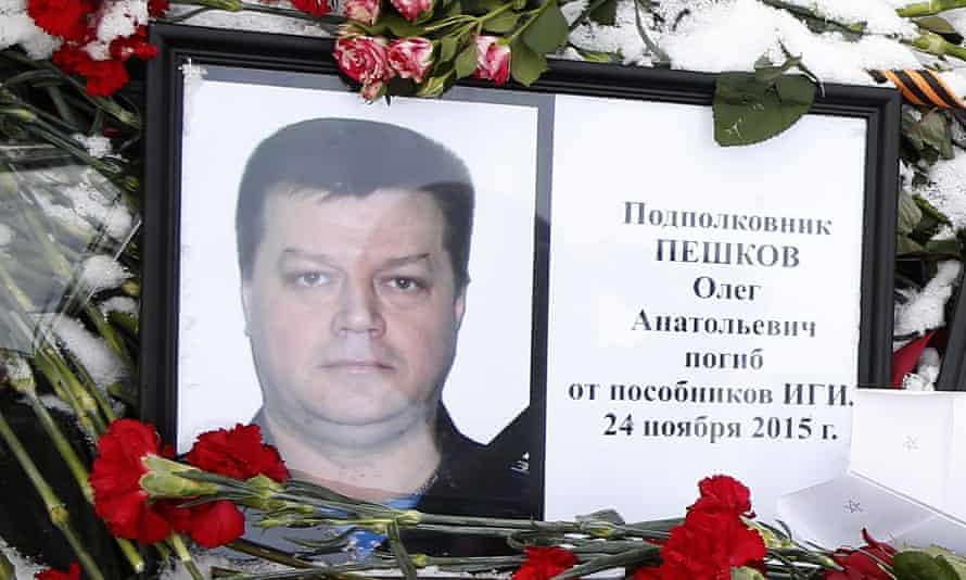A portrait of Oleg Peshkov