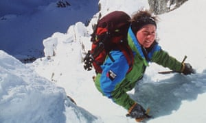 Alison Hargreaves on Everest