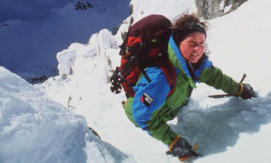 Alison Hargreaves on Everest