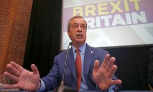 Nigel Farage at Ukip press conference