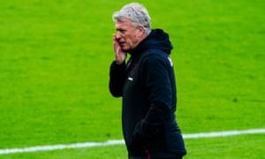 David Moyes, manager of West Ham United.