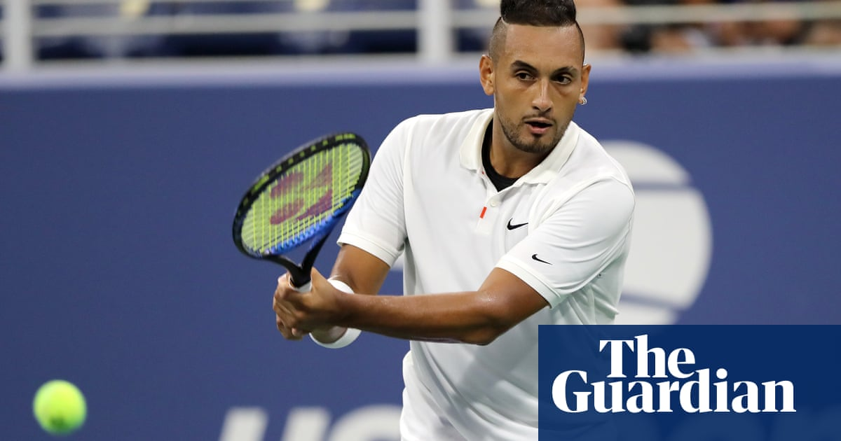 Kyrgios clashes with tennis authorities again in US Open row over shirt message
