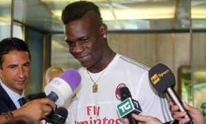 Mario Balotelli spent an unproductive year at Liverpool before returning to Italy.