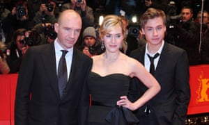 Ralph Fiennes, Kate Winslet and David Kross at The Reader premiere