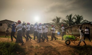 Community educators for the Centre for Liberian Assistance