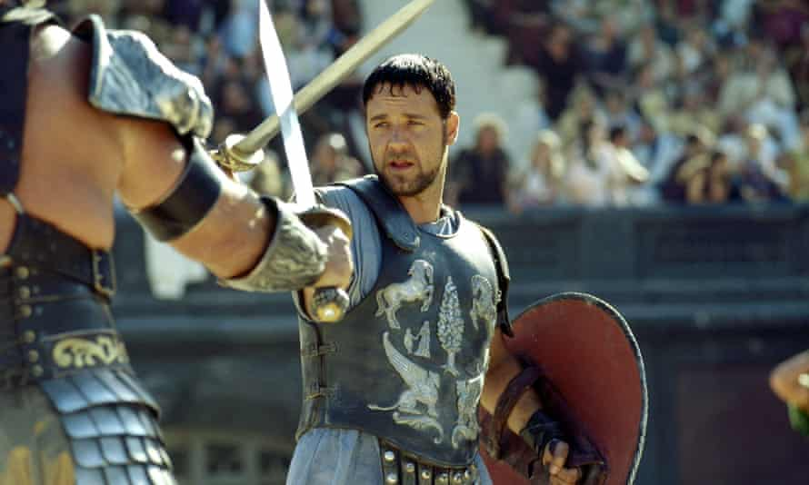 The famous Gladiator breastplate