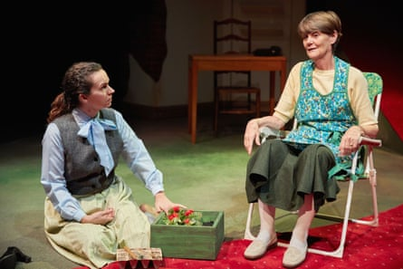 Jude Mahon, left, and Ali Briggs in My Mother Said I Never Should