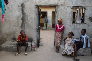 Paulina, 42, was abducted by Boko Haram four months ago as she was attending her sister's funeral.