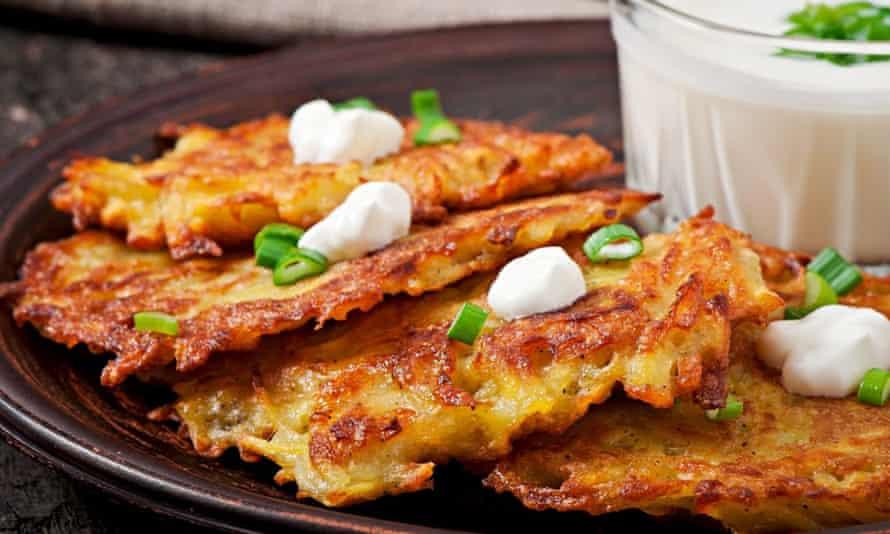 Polish potato cakes.