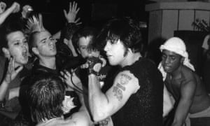 Highly influential cartoon-horror shtick … the Misfits' Glenn Danzig.