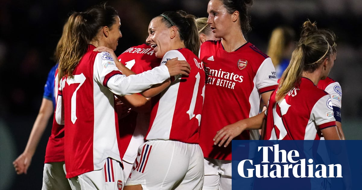 Heath and Miedema boost Arsenal's WCL hopes with Hoffenheim rout
