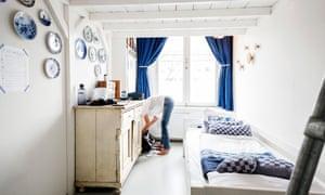 Bedroom at Cocomama hostel, Amsterdam.
