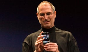 Apple co-founder Steve Jobs unveiled the first iPhone in San Francisco in 2007.