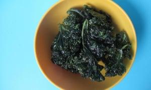 Guy Fieri's deep-fried kale chips.