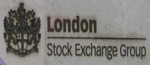 The London Stock Exchange.
