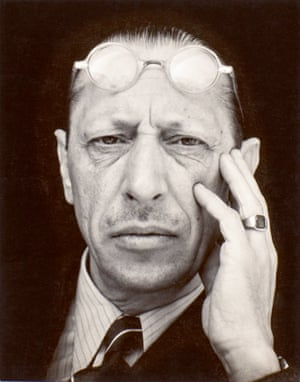 Igor Stravinsky, 1935 by Edward Weston, from the Tate Modern show The Radical Eye