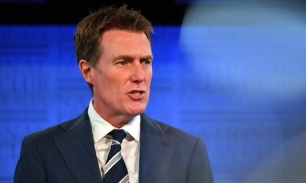 Christian Porter calls for Facebook and Twitter to be treated as publishers