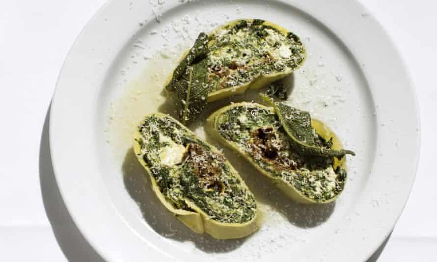 Rotolo di spinaci.