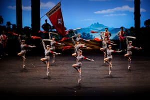 The Red Detachment of Women performed by the National Ballet of China. The ballet is coming to Australia for the inaugural Asiatopa festival in Melbourne.
