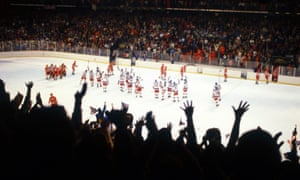 The absence of NHL players at this year's Olympics brings back memories of the US underdog team at the 1980 Games