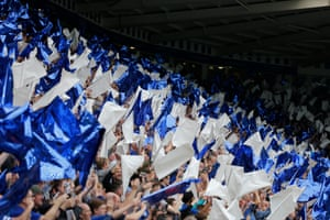 The flags are flying inside the King Power Stadium