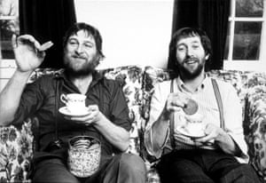 Chas and Dave at home in 1982