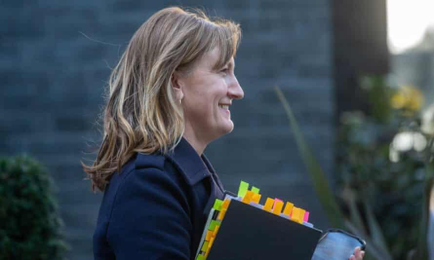 Allegra Stratton in Downing Street