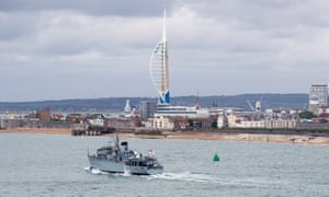 Portsmouth's proud naval heritage is one of its key features.