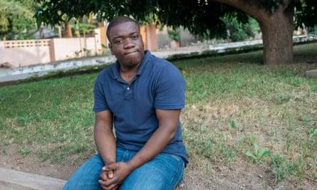 Kweku Adoboli in Ghana after deportation from the UK