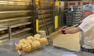 Baking bread at Reeve the Baker
