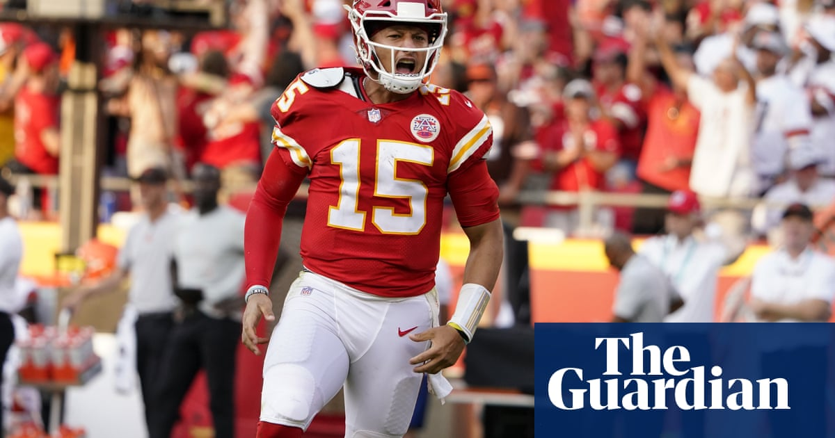 NFL round-up: Patrick Mahomes and Chiefs storm back to beat Browns