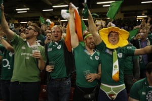 Qualification to the quarter-finals is when Irish Eyes are Smiling