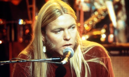 Gregg Allman on the BBC's The Old Grey Whistle Test in the 1970s.