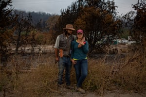 Cole and Verónica Mazariegos-Anastassiou on Cascade Ranch.