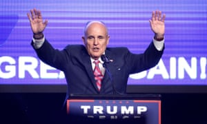Rudy Giuliani was scheduled to speak at the Kremlin-linked conference, and then abruptly said he would no longer attend.