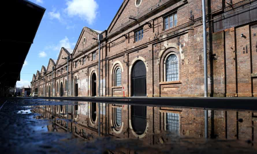The Carriageworks arts precinct in Sydney's inner west. It went into receivership on 4 May after suffering an 'irreparable' loss of income due to the Covid-19 shutdown but has now been bailed out.