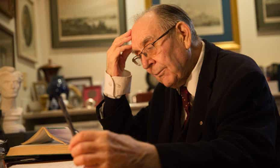 Former Labor speechwriter Graham Freudenberg wrote more than 1,000 speeches. 'I never had the title of speechwriter, and I was never acknowledged.'