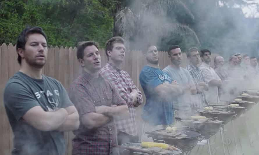 A screen grab from Gillette's 'toxic masculinity' ad